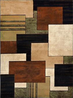 Home Dynamix Tribeca HD5367-548 Brown Accent Rug