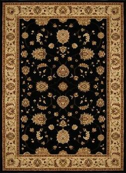 "Home Dynamix Triumph Fawn  7'9""x10'2"" Area Rug in Black/Beig"