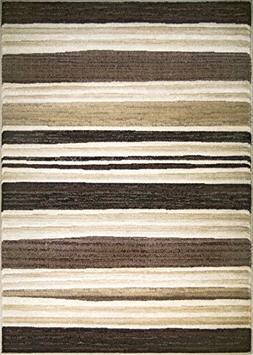 ADGO Hudson Collection Modern Striped Parallel Soft Carpet A