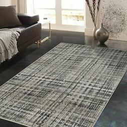 Allstar Rugs Ivory and Cream Rectangular Accent Area Rug Cre