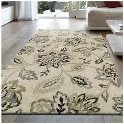 Superior Jacobean Collection Area Rug, 8mm Pile Height with