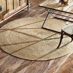 nuLOOM Jute Natural Rigo Area Rug