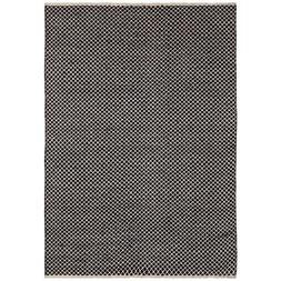Earth First Jute Squares Flat Weave Runner, 2.5-Feet by 12-F