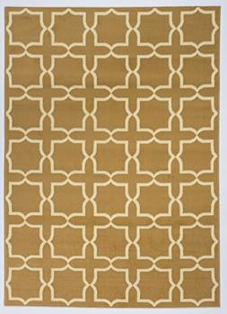 Antep Rugs Kashan King Collection PLUS Geometric Polypropyle