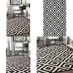 Kellee Contemporary Black 2 Ft. X 3 Ft.  Area Rug
