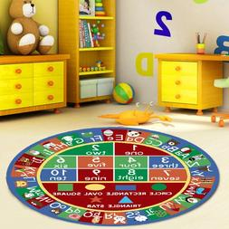 Furnish my Place 755 Abc with Shape Kids Alphabet Numbers Ed