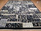 10'x13' Thick & Plush Rajasthan Patch Work HandKnotted Clear