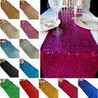 12x108inch 12 Colors Sequin Glitter Bed Table Runner Cloth C