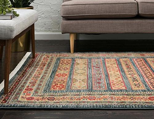 Unique Kashkuli Collection Abstract Home Area Rug