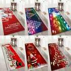 4 Sizes Christmas Doormat Non-slip Bathmat Capet Area Floor