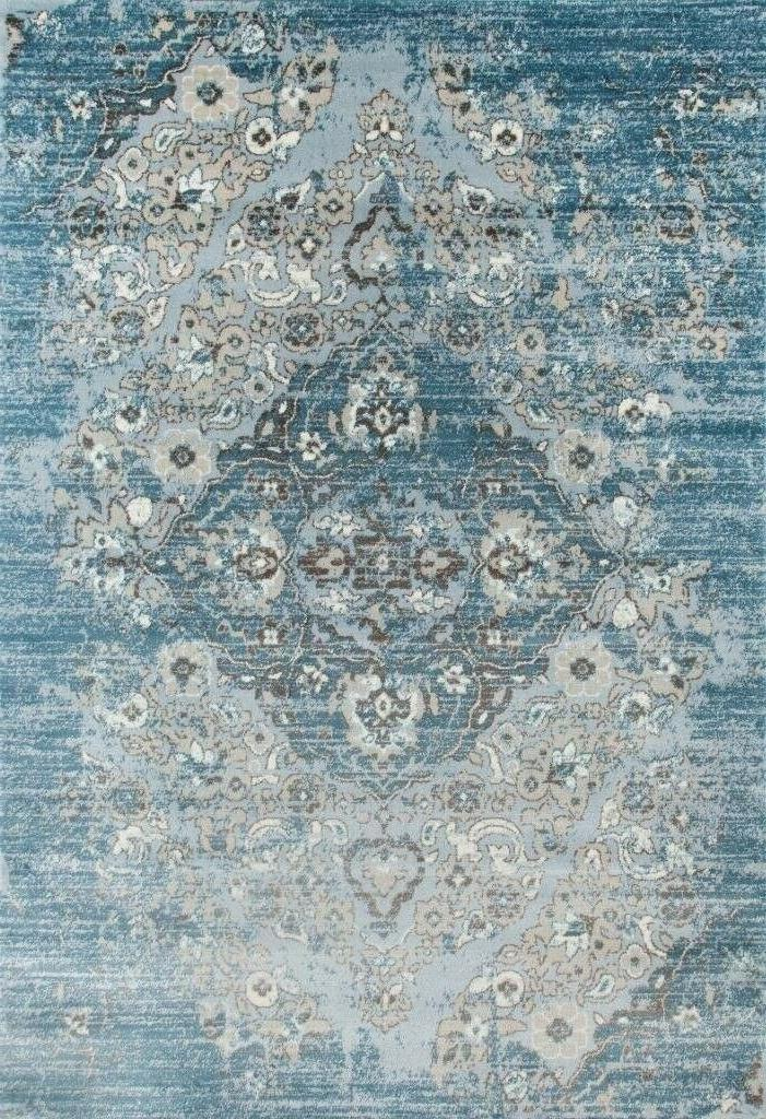 4620 distressed blue 5 2x7 2 area