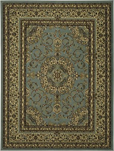 "Ottomanson Collection Rug, 7'10"" Oriental Medallion"