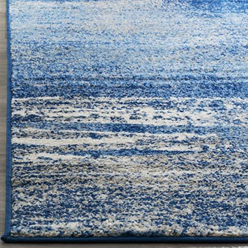 Safavieh Adirondack Silver Blue Abstract Area