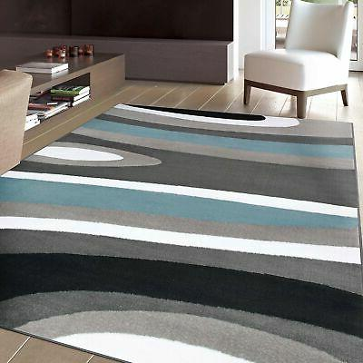 abstract contemporary modern area rug 10 x