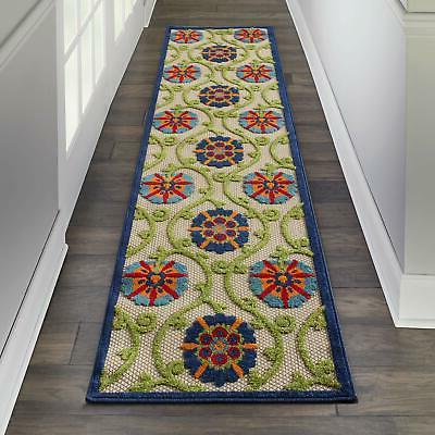 alh19 aloha blue multicolor easy care indoor