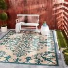 Nourison Aloha Indoor/Outdoor Vine Pattern Area Rug - 5'3 x
