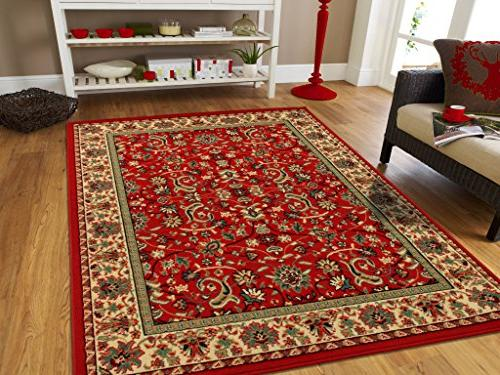 AS Quality Rugs Red Persian Rugs for Living