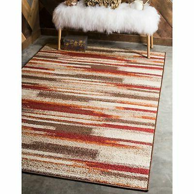 Unique Loom Autumn Wheat Rug - 9' x 12'