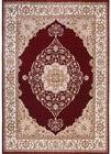 Home Dynamix Bazaar Emy HD2587 Red/Ivory Room Decoration Are
