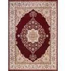 Home Dynamix Bazaar Emy Red/Ivory 7 ft. 10 in. x 10 ft. 1 in