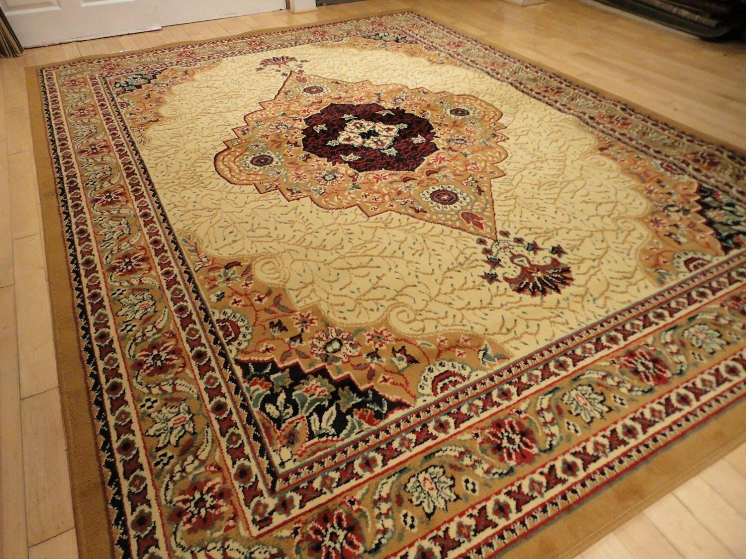 Beige Rugs Persian 5x8 8x11 Traditional 2x3 Mat