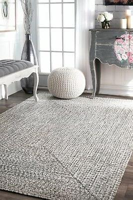 nuLOOM Braided Indoor in Gray