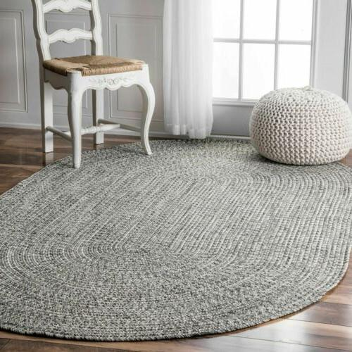 nuLOOM Braided Indoor Area Rug in