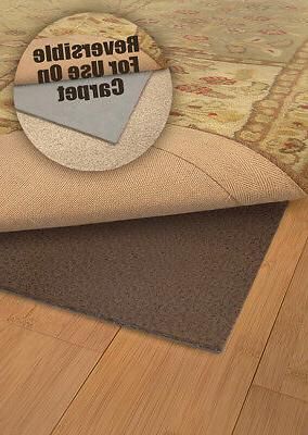 Brown Area Rug Pad - Solid 0005E