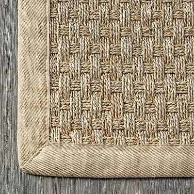 nuLOOM Casuals Weave Rug in Natural