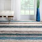 nuLOOM Cine Collection Hand Made Area Rug, 6-Feet by 9-Feet,