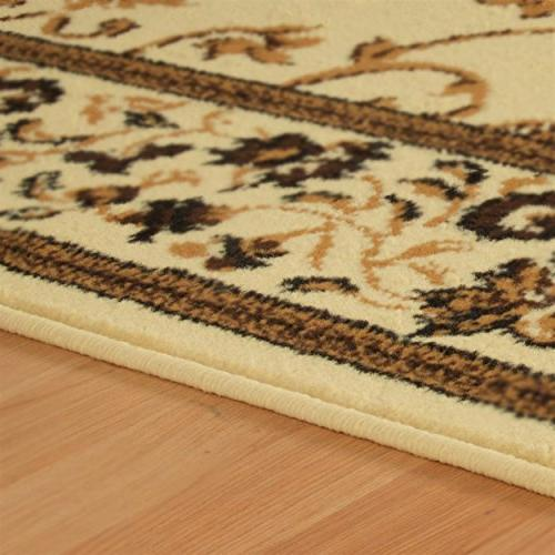 Superior Clementina 3-Piece Rug Attractive with and Elegant Set - x 3', x 5', and x Rugs, Cream