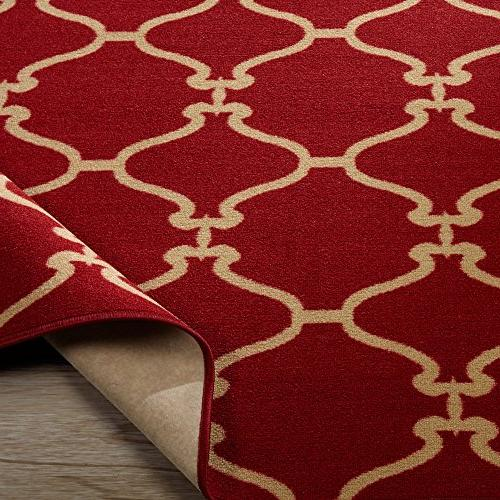 Sweet Stores Clifton Collection Moroccan Felt Area Rug,