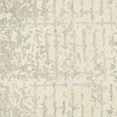 Rivet Contemporary Linear Distressed Wool Area x 8 5'