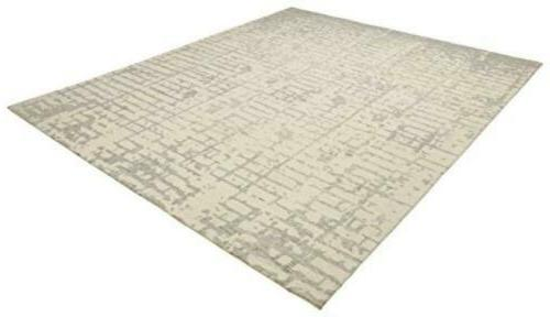 Rivet Wool Area Rug, x 5' x