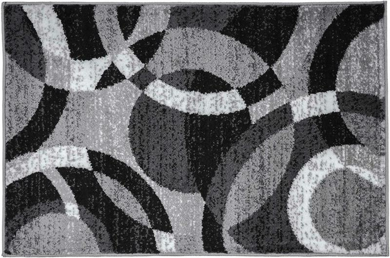 Contemporary Modern Area Rug Abstract X 3'
