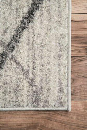 nuLOOM Contemporary Modern Solid Rug in Gray