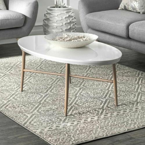 contemporary modern geometric tiles area rug in