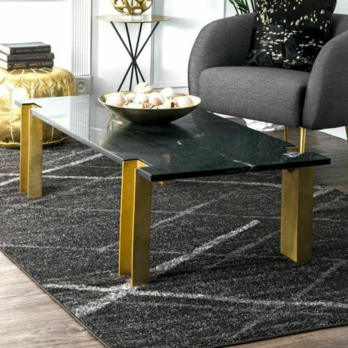 nuLOOM Contemporary Modern Solid and in