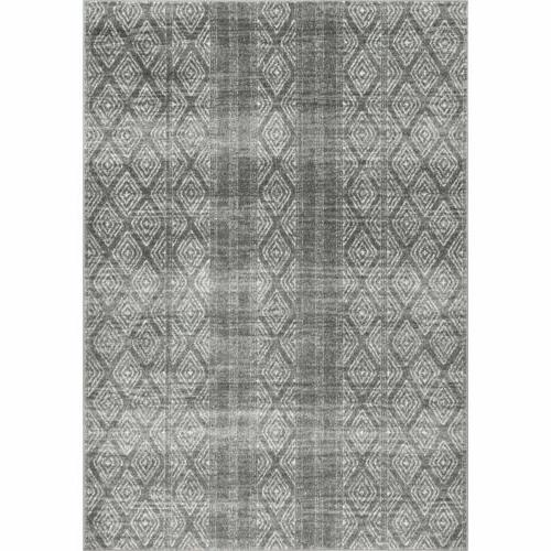 nuLOOM Contemporary Sarina Diamonds Area Gray