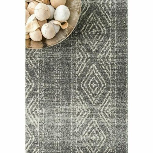 nuLOOM Area Rug in Gray
