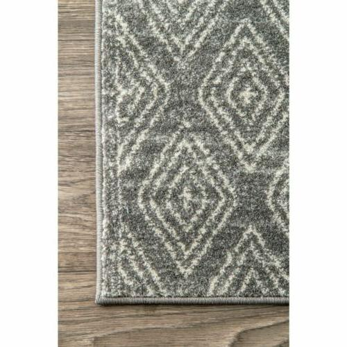 nuLOOM Contemporary Sarina Area in Gray