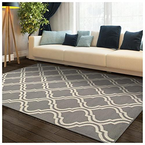 double trellis collection area rug