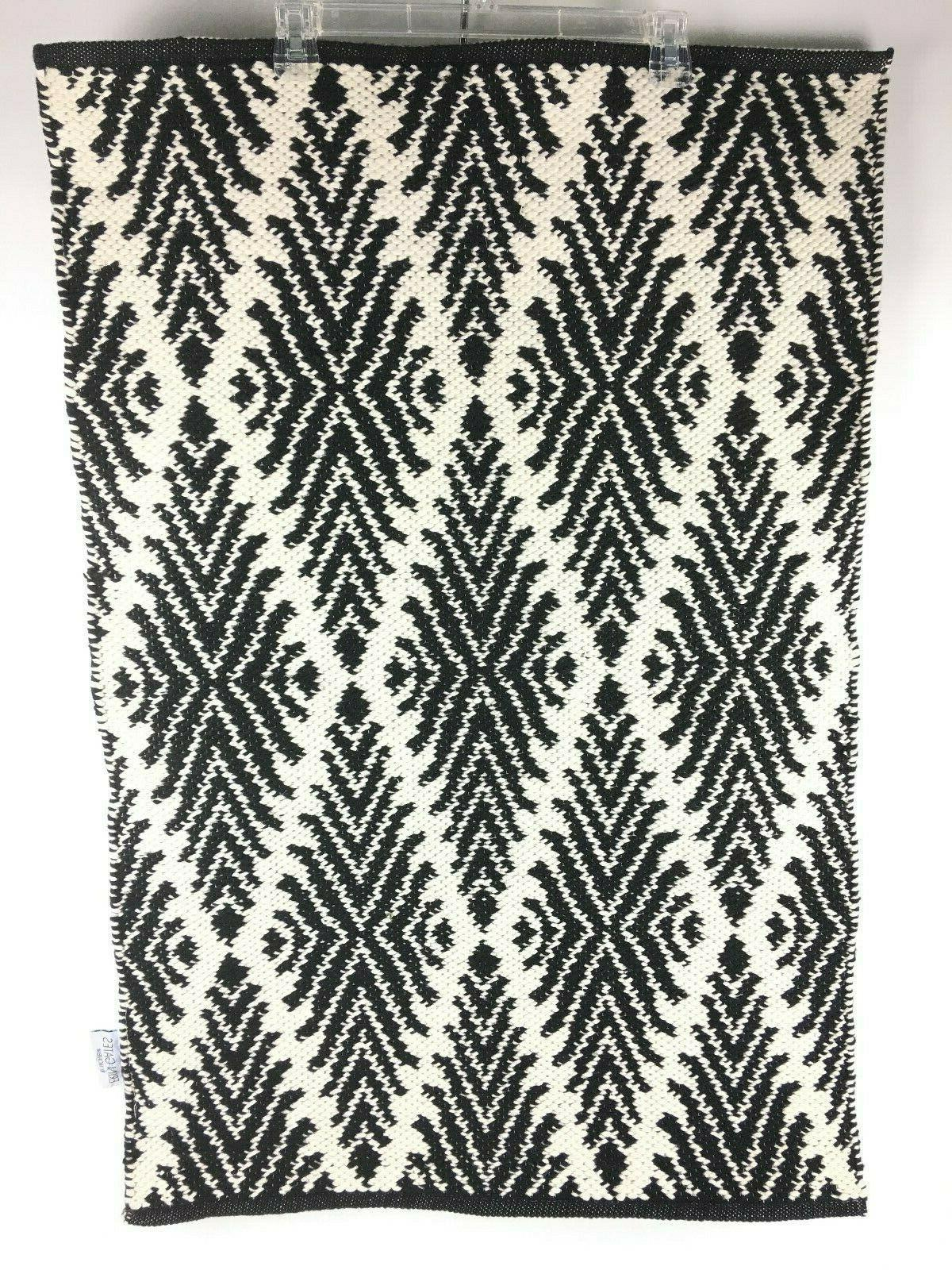 Erin Gates By Black Woven Area Rug 2' X