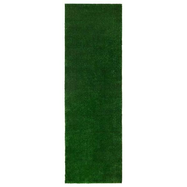 Ottomanson Evergreen Artificial Grass Indoor/Outdoor Multiple Size