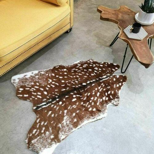 Faux Hide Rug Fur Cowhide Rug Animals