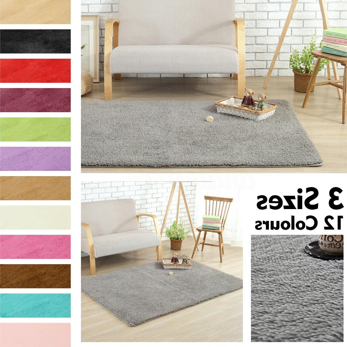 Fluffy Rug Area Mat Home Dining Room