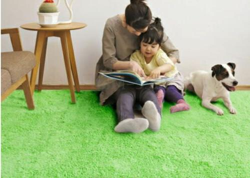 Large Fluffy Rugs Shaggy Area Rug Room Mat