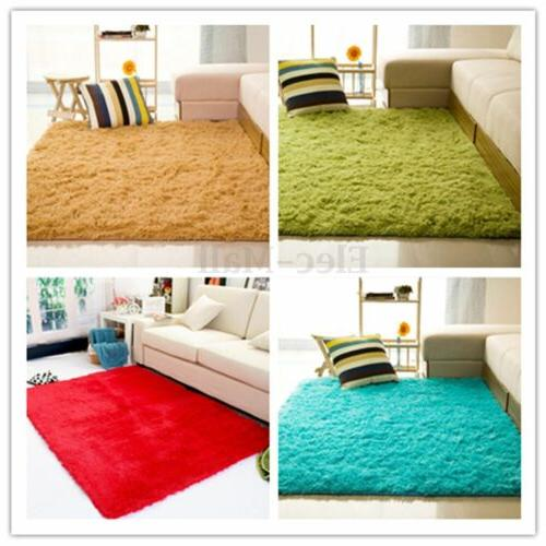 Large Fluffy Rugs Shaggy Mat