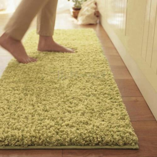 Large Fluffy Shaggy Area Room Home Bedroom Mat
