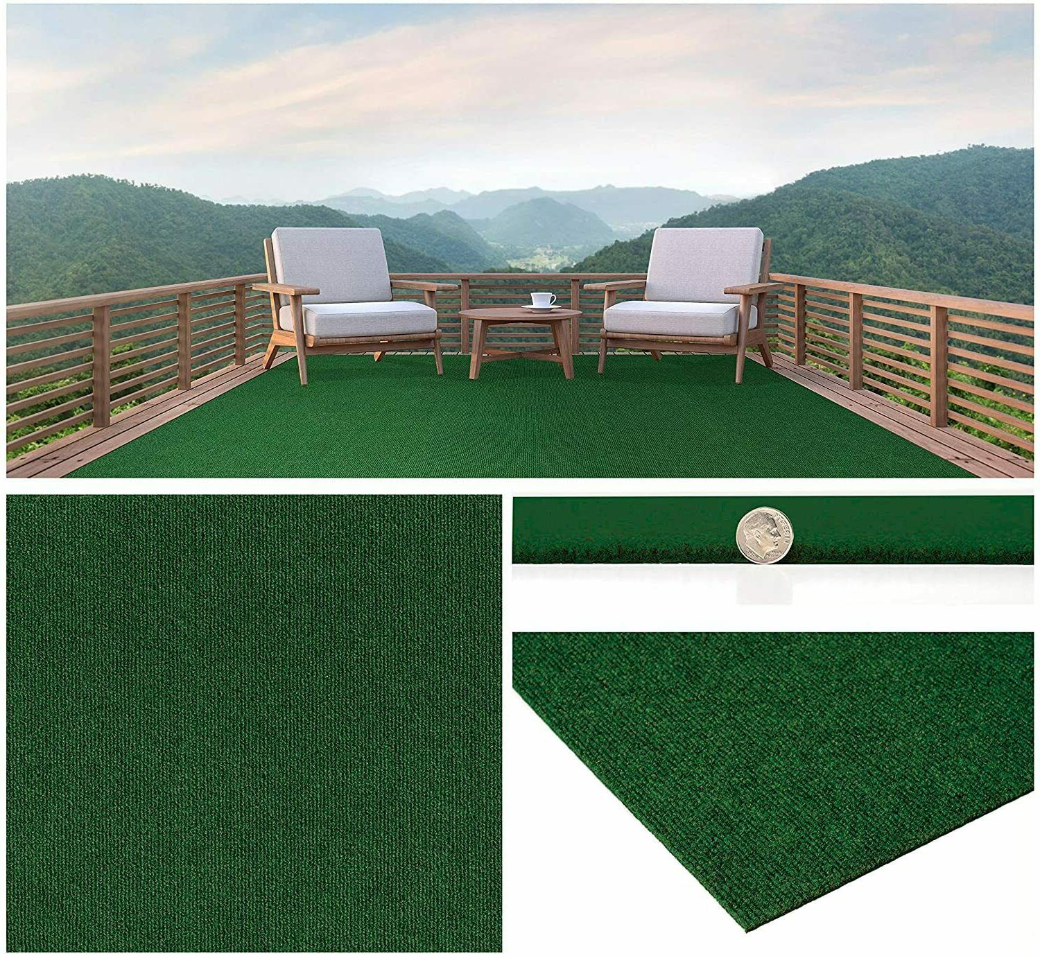 green durable outdoor area rugs constructed
